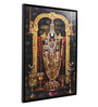 @ Home Canvas & Wood 25.6 x 1.6 x 37.4 Inch Bajaji Religious Framed Painting