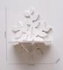 Aapno Rajasthan White MDF Tree Style Elegant Wall Shelf