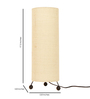 Abilio Table Lamp in Beige by CasaCraft