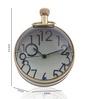 Anantaran Golden Brass Replica Paper Weight Table Clock