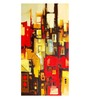 ArtCollective Abstract Canvas Framed Art Print