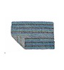 Avira Home Turquoise Cotton 20 x 30 Bath Mat