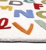 Azaani Alphabet Egypt Blended Wool Carpet