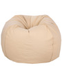 ORGANIC COTTON Bean Bag Cover in Beige Colour by Reme
