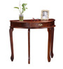 Mackin Console Table in Honey Oak Finish by Amberville
