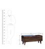 Aberdeen Bench in Provincial Teak Finish by Woodsworth