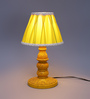 Cadwallon Table Lamp in Yellow by Amberville