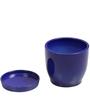 Blue Ceramic Table Top & Saucer By Decardo