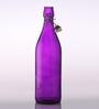 Bormioli Rocco Giara Viola Purple Glass 1 L Bottle - Set of 2