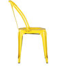 Bowen Metal Chair in Yellow Color by Bohemiana