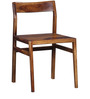 Brunilda Two Seater Dining Set in Provincial Teak Finish by Woodsworth