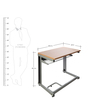 Buddy Study Table in Beech Finish by Godrej Interio