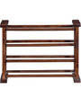 Belmont Shoe Rack in Provincial Teak Finish by Woodsworth