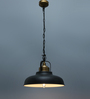 Granada Pendant Lamp In Black by CasaCraft