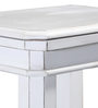 Chilton Stool in White Finish by Amberville