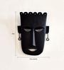 Chinhhari Arts Black Wrought Iron Madiya Mask