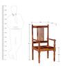 Auburm Chair in Honey Oak Finish by Amberville
