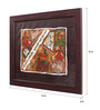 Cocovey Canvas 12 x 2 x 16 Inch Silk Paper Handmade Framed Rajasthani Style Phad Painting