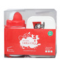 Combo Set Of Lunch Box And Water Bottle in Red Colour by Imagica