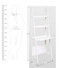 Compact Study Desk in White Colour by HomeTown