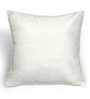 Cortina Black & White Polyester 16 x 16 Inch Velvet Abstract Cushion Cover