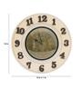 Adrianna Wall Clock in Multicolour by CasaCraft