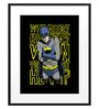 DailyObjects Paper Batspotting Framed Art Print