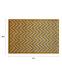 Designs View Yellow Fine Indian Blended Wool 60 x 36 Inch Hand Tufted Floor Covering Jiggy Design Area Rug
