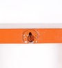 Calascio Set Of 3 Wall Shelve in Blue & Orange by CasaCraft