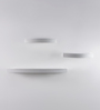 Castilla Set Of 3 Wall Shelf in White by CasaCraft