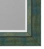 Natalio Minimalist Mirrors in Blue by CasaCraft