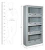 File Cabinet cum Book Case by Arvind Furniture