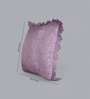 Foyer Blue Taffeta 20 x 20 Inch Cham Cushion Cover