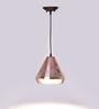 Glowbox Copper Glass Pendant