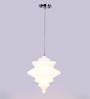 Glowbox White Glass Pendant
