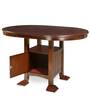 Grant Six Seater Dining Table in Brown Colour by @Home