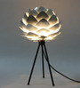 Samuelle Table Tripod Lamp in Silver by Bohemiana