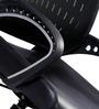 Hi-Tech Medium Back Ergonomic Chair in Black Colour by Stellar