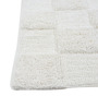 Homefurry White Glossy Tiles 20 X 32 Inch Cotton Bath Mat
