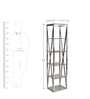 Ice Tall Display Unit by Inliving