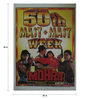 Indian Hippy Paper 30 x 40 Inch Mohra Vintage Classic Unframed Bollywood Poster