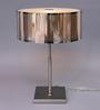 Jainsons Emporio Bistro Silver Metal Table Lamp