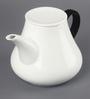 Kahla Touch Black & White Porcelain 1500 ML Five Senses Teapot