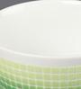 Kahla Touch Green Squares Einzelteile Porcelain Bowl