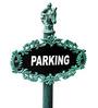Karara Mujassme Victorain Style European Gothic Antique Geen Cast Iron Signage