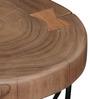Drosen Set of Tables in Natural Sheesham Finish by Bohemiana