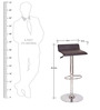 Kitchen/Bar Stool in Black Color by Exclusive Furniture