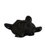 Kokoon Brown Ceramic Turtle Incense Holder
