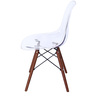Komako Accent DSW Eames Replica Chair (Set of 2) in Clear Colour by Mintwud