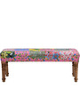 Sthavi Bench with Kaantha Patchwork by Mudramark